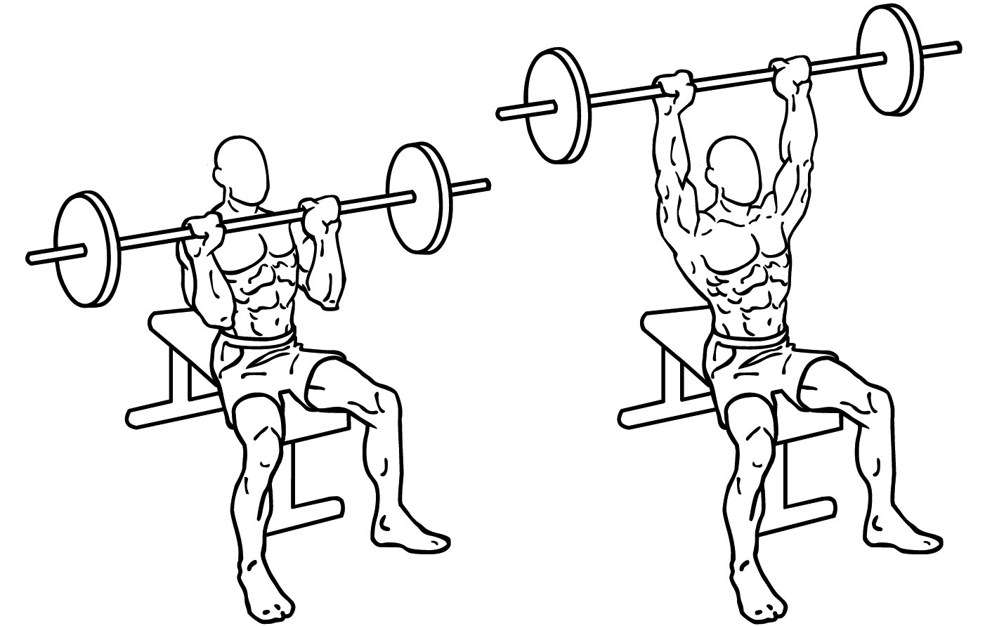 5 of the best exercises for shoulders in the gym and at home